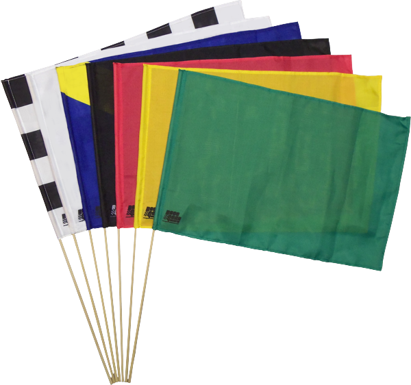 7 Piece Racing  Cloth Stick  Flag Set