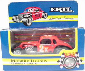 Ed Flemke #2x 1/64th Nutmeg modified coupe