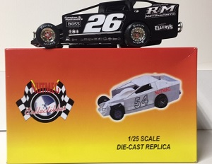 Ryan Godown #26 1/25th scale Nutmeg RM Motorsports dirt modified