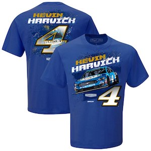 Kevin Harvick #4 2019 Busch Beer Contender blue t-shirt