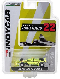 Simon Pagenaud #22 1/64th 2018 Greenlight Menards Indycar