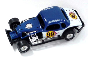 Bob Malzahn #99 1/64th scale modified coupe