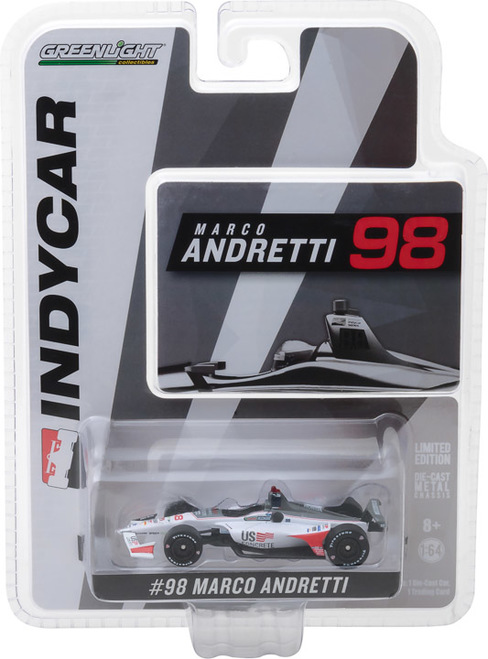 Marco Andretti #98 1/64th 2018 Greenlight US Concrete Indycar