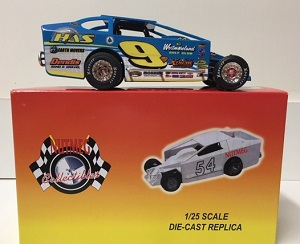 Matt Sheppard #9 1/25th scale Nutmeg HAS Earth Movers dirt modified