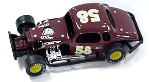 Merv Treichler #58 1/64th scale modified coupe