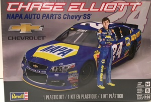 Chase Elliott #24 NAPA Chevy 1/25th Revell plastic model kit