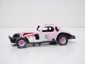 Chuck Akulis #3 1/64th scale  Pink Panther custom built coupe modified