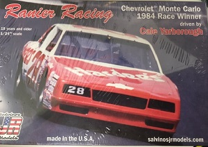 Cale Yarborough Ranier Racing #28 1/25th 1984 Chevrolet Monte Carlo Salvinos JR Model kit
