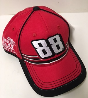 Dale Earnhardt Jr #88 AXALTA HOMESTEAD LAST RACE red twill hat