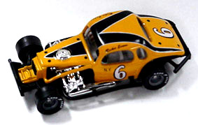 Richie Evans #6 1/64th scale modified coupe