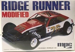 Ridge Runner Pinto Modified 1/25th MPC plastic model kit