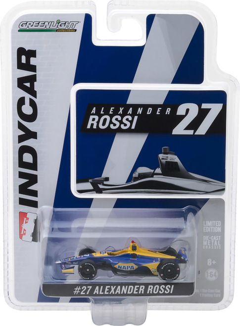 Alexander Rossi #27 1/64th 2018 Greenlight NAPA Indycar
