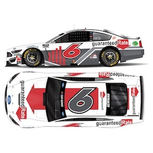 Ryan Newman #6 1/64th 2020 Lionel Guaranteed Rate Mustang