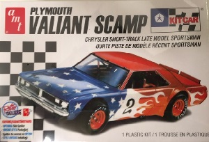 Plymouth Valiant Scamp 1/25th AMT plastic model kit