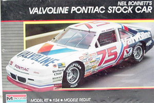Neil Bonnett #75 Valvoline Pontiac Stock Car Model kit