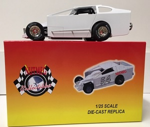 1/25th scale WHITE blank Dirt Modified