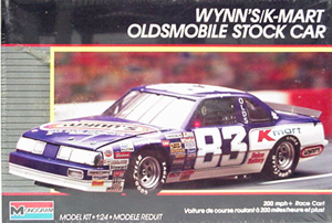 Lake Speed #83 Wynn�s KMart Oldsmobile plastic model kit